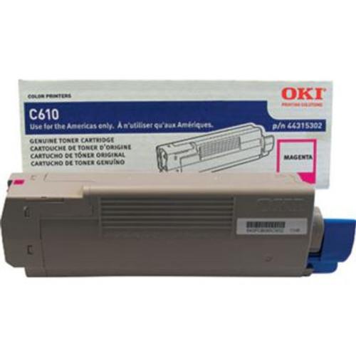 Original OKI 44315302 Laser Toner Cartridge  Magenta