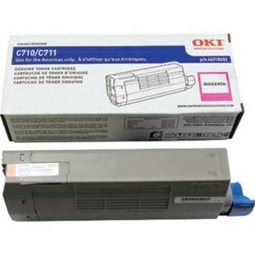 Original OKI 44318602 Laser Toner Cartridge  Magenta