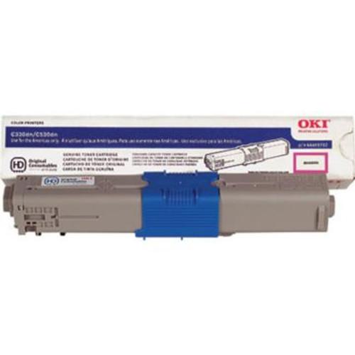 Original OKI 44469702 Laser Toner Cartridge  Magenta