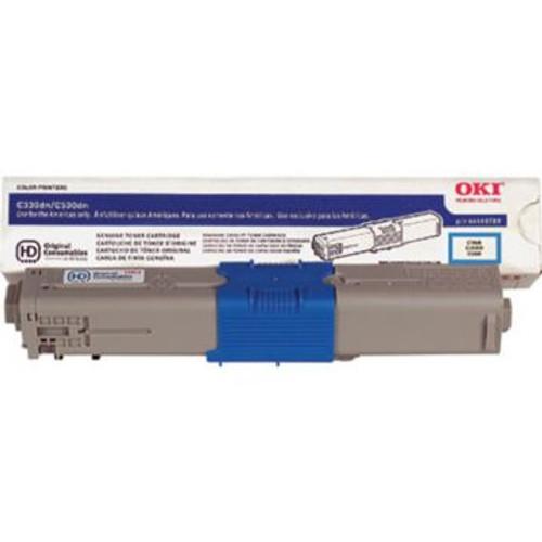 Original OKI 44469703 Laser Toner Cartridge  Cyan