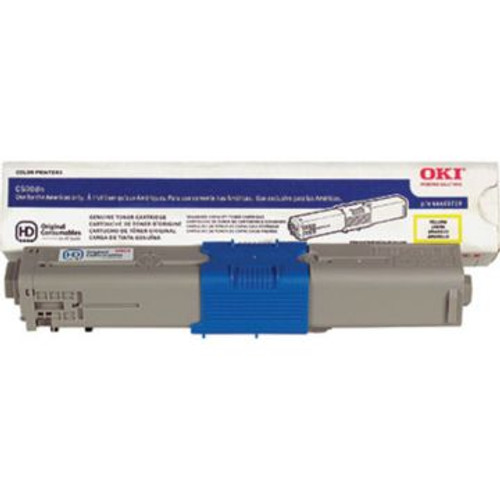 Original OKI 44469719 High-Yield Laser Toner Cartridge  Yellow