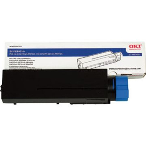 Original OKI 44574901 High-Yield Laser Toner Cartridge  Black