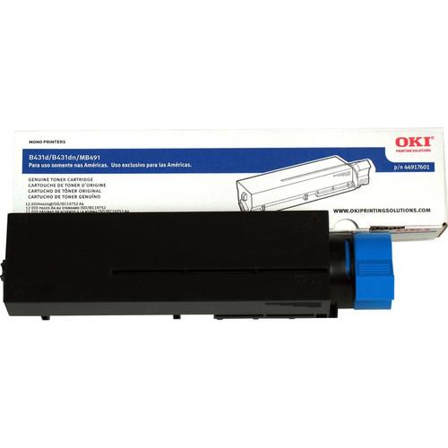 44917601 | Original OKI Toner Cartridge - Black
