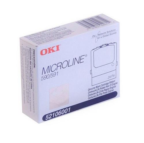 52106001 | Original OKI Nylon Printer Ribbon - Black
