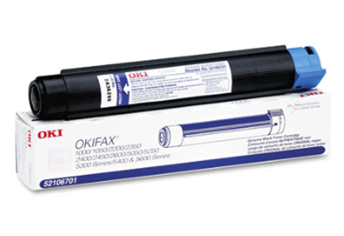 Original Oki Okifax 52106701 Fax and Multi-Function Toner Cartridge