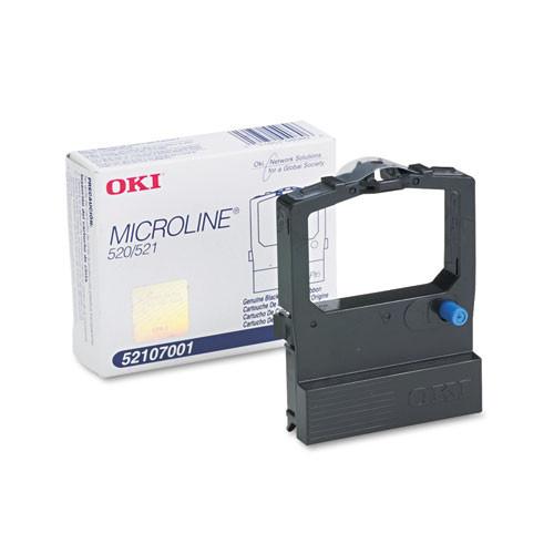 52107001   Original OKI Nylon Printer Ribbon - Black
