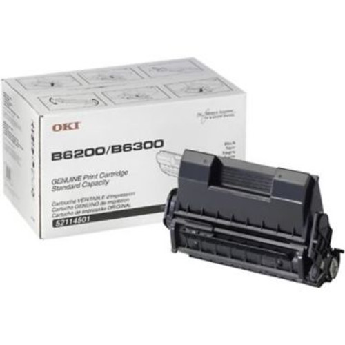 Original OKI 52114501 Laser Toner Cartridge  Black