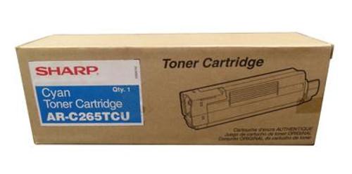 Original Sharp Cyan High-Yield Toner Cartridge AR-C265TCU