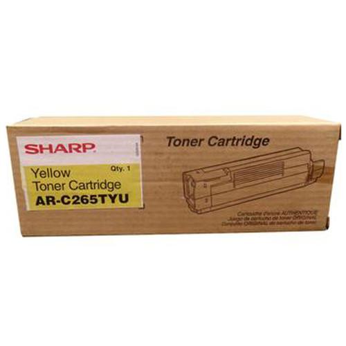Original Sharp Yellow High-Yield Toner Cartridge AR-C265TYU