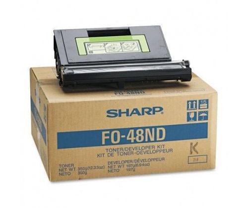 Original Sharp FO-48ND Toner Developer Kit FO-4800/4810/34 50/5450, 48DC FO4800/4810/3450/5400