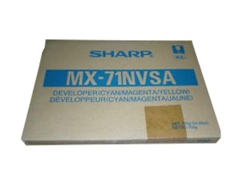 Original Sharp MX-M6201 MX71-NVSA Developer Kit Cyan Magenta Yellow