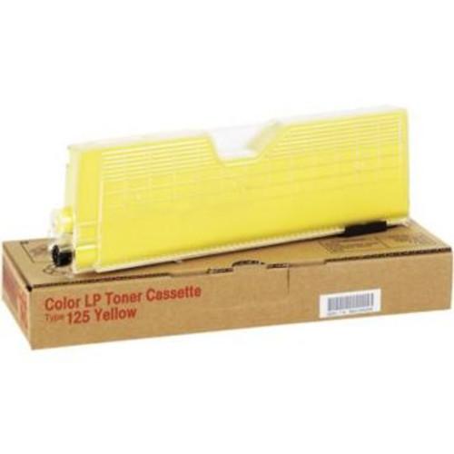 Original Ricoh Toner Cartridge Type 125 for Aficio CL2000, CL3000  Yellow