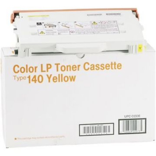 Original Ricoh LP Toner Cartridge Type 140 for CL1000N  Yellow