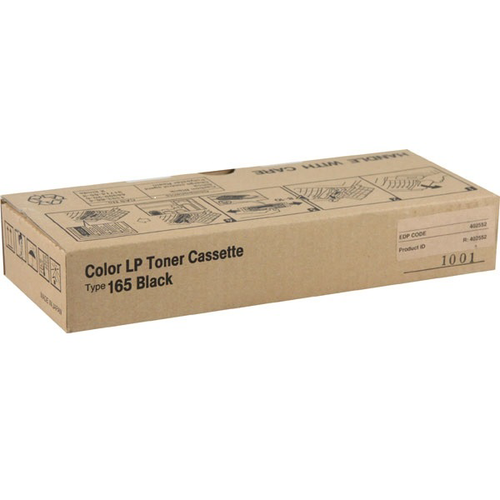 Original Ricoh 402552 Toner Cartridge Type 165 for CL3500/CL3500N/CL3500DN  Black