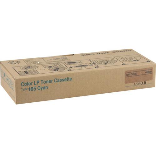 Original Ricoh 402553 Laser Toner Cartridge Type 165 for CL3500/CL3500N/CL3500DN  Cyan