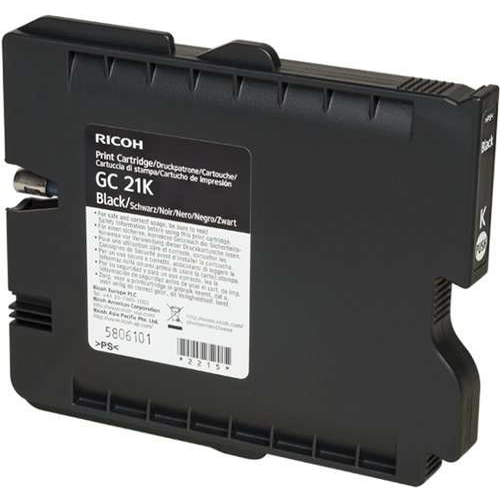 Original Ricoh 405532 Print Cartridge for GX3000, 3050N, 5050N  Black