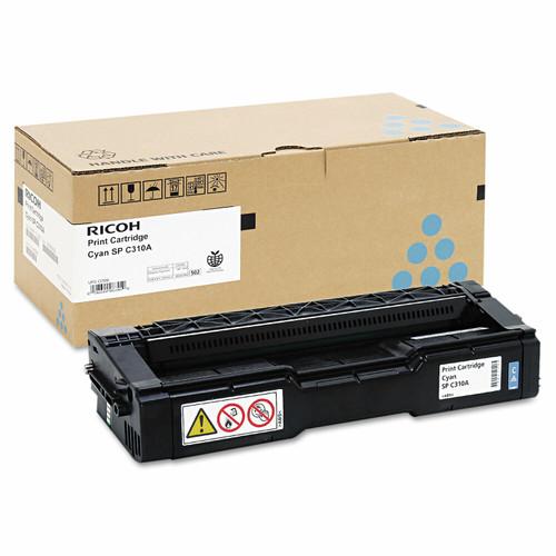 Original Ricoh 406345 Cyan Toner Cartridge