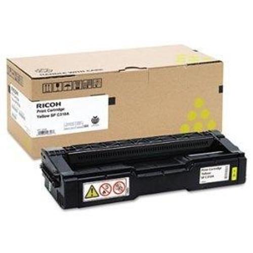 Original Ricoh Yellow Toner Cartridge  406347, Standard