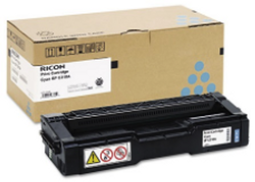 406476 | Original Ricoh High-Yield Toner Cartridge - Cyan