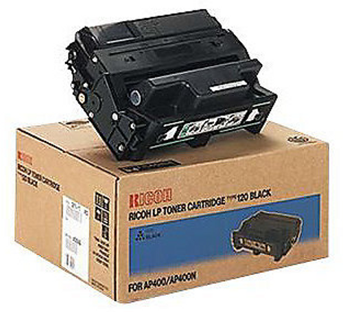 Original Ricoh Type-120 Ap-410 Black Toner Cartridge 407000