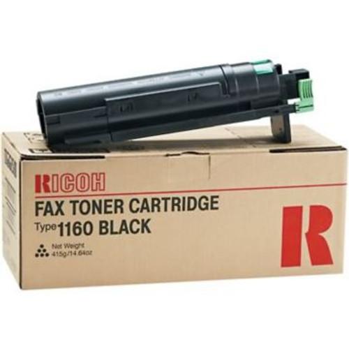Original Ricoh 430347 Type 1160 Fax Toner Cartridge  Black