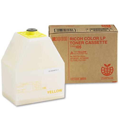 885373   Original Ricoh Toner Cartridge - Yellow