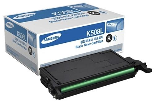 Original Samsung CLT-K508L Black Laser Toner Cartridge