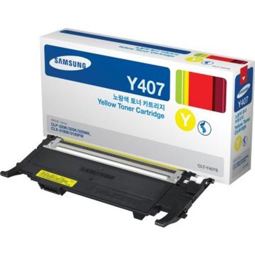 Original Samsung CLTY407S Toner Cartridge  Yellow