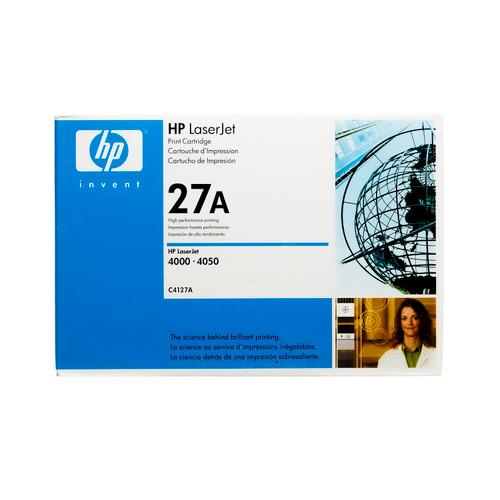 Original HP 27A C4127A Black LaserJet Toner Cartridge