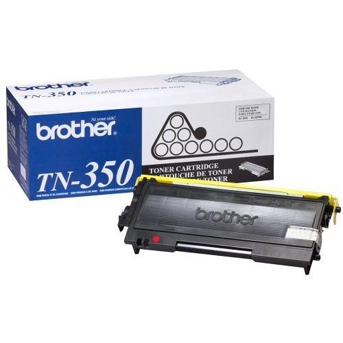 Original Brother TN-350 Black Laser Toner Cartridge