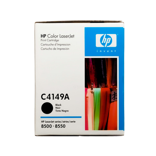 Orginal HP C4149A Color LaserJet 8500 Black Toner Cartridge