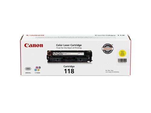 2659B001AA   Canon 118   Original Canon Toner Cartridge - Yellow