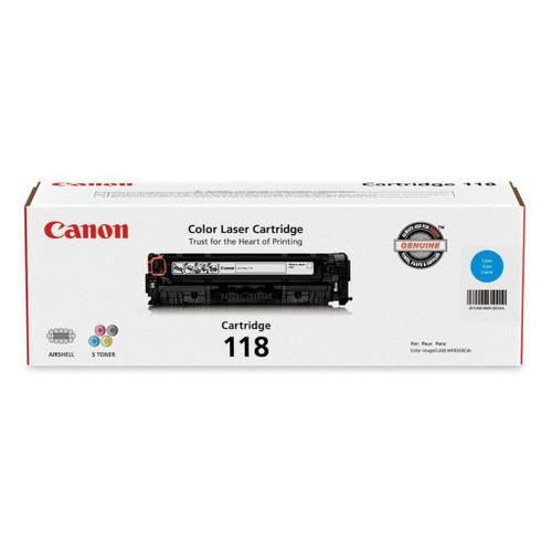 Original Canon 118 Cyan Laser Toner Cartridge 2661B001AA