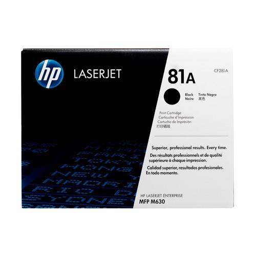 HP 81A   CF281A   Original HP LaserJet Toner Cartridge - Black