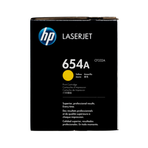 CF332A | HP 654A | Original HP LaserJet Toner Cartridge - Yellow