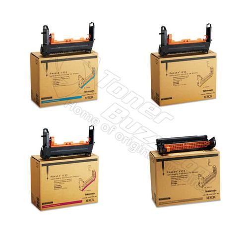 Original Xerox Phaser 1235 Black Cyan Magenta Yellow Drum Cartridge 4-Pack 013R90132 013R90133 013R90134 013R90135
