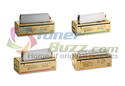 Original Xerox Phaser 2135 Black Cyan Magenta Yellow Toner Cartridge 4-Pack 016-1913-00 016-1914-00 016-1915-00 016-1916-00