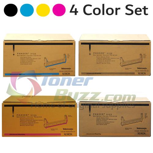 Original Xerox Phaser 2135 Black Cyan Magenta Yellow Drum Cartridge 4-Pack 016-1921-00 016-1922-00 016-1923-00 016-1924-00