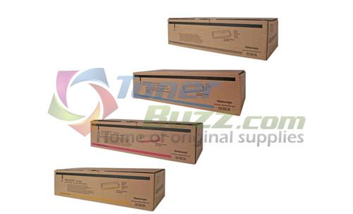 Original Xerox Phaser 2135 Black Cyan Magenta Yellow High Capacity Toner Cartridge 4-Pack 016-1917-00 016-1918-00 016-1919-00 016-1920-00