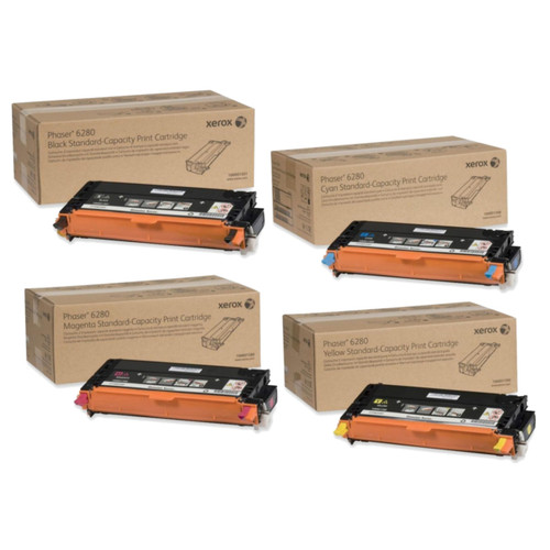 Phaser 6280 | 106R01388 106R01389 106R01390 106R01391 | Original Xerox Toner Cartridge Set – Black, Color