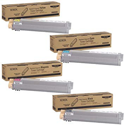 Phaser 7400 | 106R01080 106R01150 106R01151 106R01152 | Original Xerox Toner Cartridge Set – Black, Color