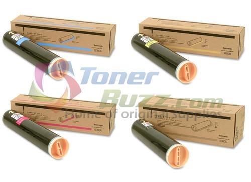 Original Xerox Phaser 7700 Black Cyan Magenta Yellow High Capacity Toner Cartridge 4-Pack 016-1944-00 016-1945-00 016-1946-00 016-1947-00