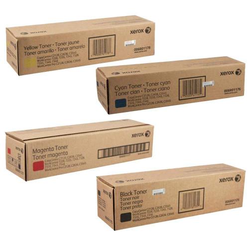 WorkCentre C2421/3545 | 006R01175 006R01176 006R01177 006R01178 | Original Xerox Toner Cartridge Set – Black, Color