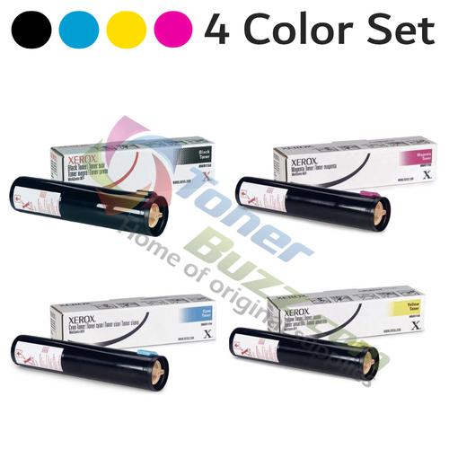 Original Xerox WorkCentre C2421/3545 Black Cyan Magenta Yellow Toner Cartridge 4-Pack 006R01175 006R01176 006R01177 006R01178
