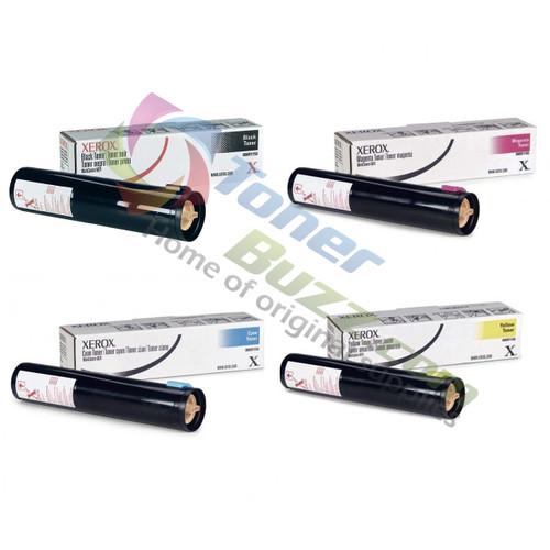Original Xerox WorkCentre M24 Black Cyan Magenta Yellow Toner Cartridge 4-Pack 006R01153 006R01154 006R01155 006R01156
