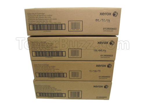 Docu 240 Drum   013R00602 013R00603   Original Xerox Drum Unit Set – Black, Color