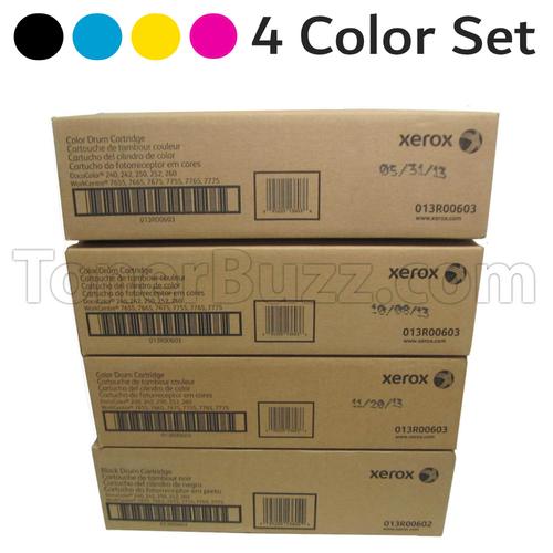 Docu 240 Drum | 013R00602 013R00603 | Original Xerox Drum Unit Set – Black, Color