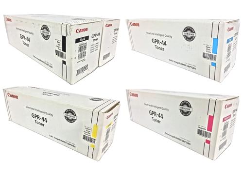 Canon GPR-44 CYMK Set   2662B009AA 2659B005AA 2660B005AA 2661B005AA   Original Canon Toner Cartridge Set - Black, Cyan, Magenta, Yellow
