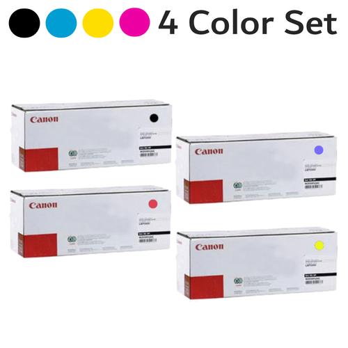 Original Canon GPR-45 Black Cyan Magenta Yellow Toner Cartridge Set Crg-45 6260B001AA Crg-45 6261B001AA Crg-45 6262B001AA Crg-45 6264B001AA