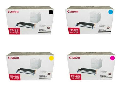 Canon EP-85 CYMK Set | 6822A004AA 6823A004AA 6824A004AA 6825A004AA | Original Canon Toner Cartridge Set – Black, Cyan, Magenta, Yellow